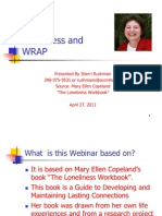 Webinar Loneliness and Wrap 2011