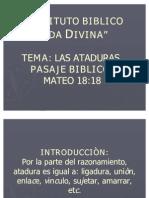 ATADURAS 1 2 3 4