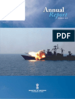 Ministry of Defence, Govt of India - Annual Report 2005