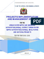 UWSAs 2008-09 Projects Report [Final]