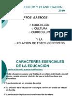CARACTERES ESENCIALES DE LA EDUCACIÓN