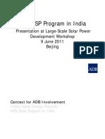 CSP Program in India