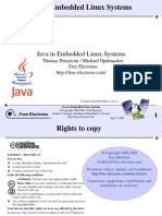 Embedded Linux Java