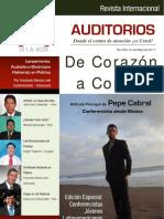 Revista Auditorios #04 | De Corazón a Corazón | Artículos para Conferencistas