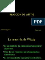 Reaccion de Wittig- Mijail Cjuno