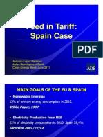 Antonio Lopez Martinez-Feed in Tariff Spain Case
