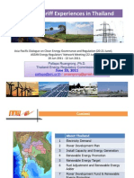 Pallapa Ruangrong - Feed-In Tariff Experiences in Thailand
