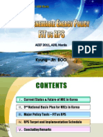 Kyung-Jin Boo - New & Renewable Energy Policy FIT vs RPS