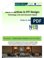 Pedro H. Maniego, Jr. - Best Practices in FIT Design