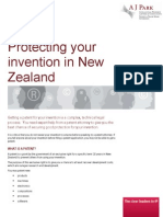 Protecting Your Invention in New Zealand
