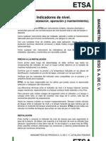 Indicadores de Nivel (Manual)