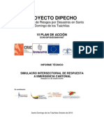 Informe Simulacro Final SD_2010
