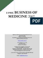 Business of Medicine 2002