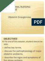Obsteric Emergancies