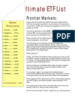 2011 Ultimate ETF List