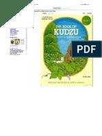 THe Book of Kudzo by Willam Shurtleff and Akaki Aoyagi