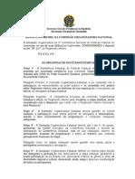 Resolução 01 CON -  Etapas Estaduais