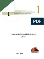 Pronama Plan Operativo 2008
