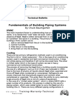 Fundamentals of Building Piping Systems