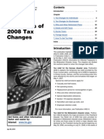2008 Publication 553 Highlights of 2008 Tax Changes