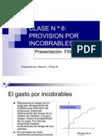 Clase n 6tratamiento de Incobrables (1)