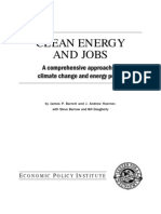 Clean Energy & Jobs
