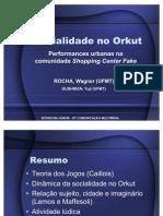 Socialidade no Orkut - APRESENTAÇÃO Intercom
