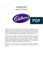 Cadbury Main Project- Final Joel 35 Pgs