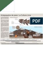 Infografía Huaca Pucllana - Claudia Grandez