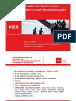 Presentación general de los servicios del ICEX