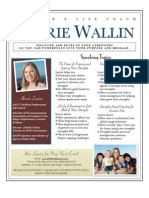 Laurie Wallin Strengths One Sheet