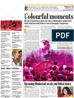 Colourful moments - Mumbai Mirror - July 7, 2011