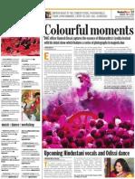 Colourful moments - Mumbai Mirror - July 7, 2011