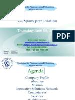 Innovative Solution Comapny Presentation June 2011