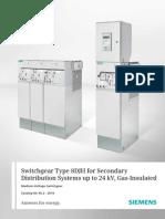 Siemens 15KV RMU- HA 40 2 En