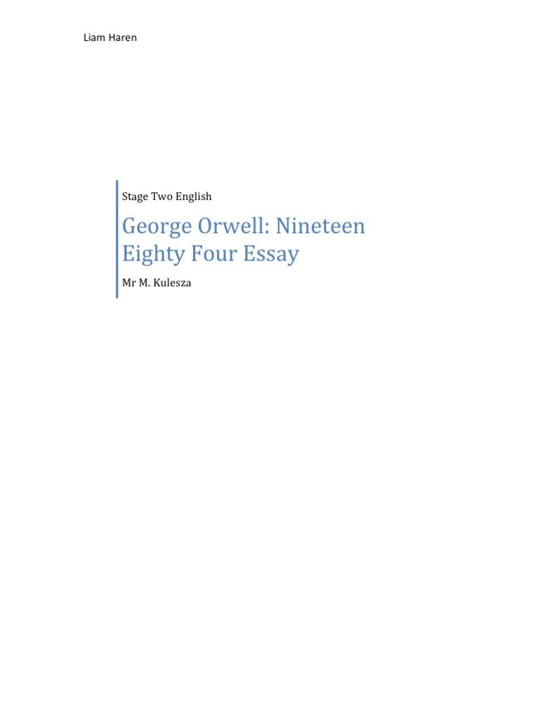 sybolism in 1984 by george orwell essay