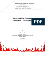 Large Building Fires and Subsequent Code Changes