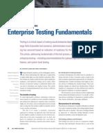 Enterprise Testing Fundamentals