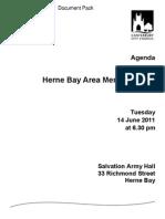 HBAMP 2011-06-14 Agenda Pack