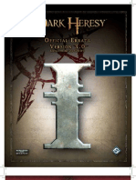 Dark Heresy Errata v3.0
