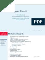 Hazard Checklist