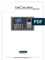 Virdi Fingerprint Reader AC4000 User Guide