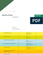 Benetton Bilancio 2007 ENGL