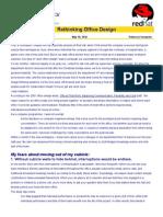 Rethinking Office Design