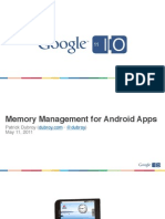 Memory Management for Android Apps