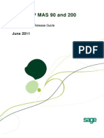 Sage ERP MAS 90 and 200 4 5 Pre-Release Guide 6-24-11