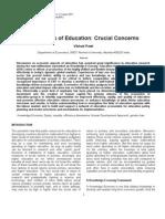 Economics of Education Vibhuti Patel Education Research Journal Vol 1 5-7-2011