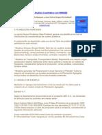 Análisis Cuantitativo con WINQSB (PLANEACIÓN AGREGADA