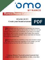 Ramco Promo Catalogue