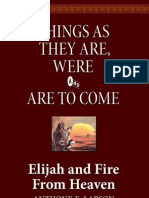 Elijah and Fire From Heaven